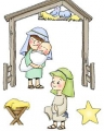 Art Impressions Jingle Tots Nativity Set 2