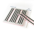 Pinkfresh Studio Cling Rubberstamp - Pop Out: Straight Stripes Cling Stamp set - Stempelgummi