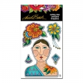 Stampendous Stanzen Laurel Burch Blossoming Woman Die Set
