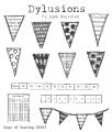 Dylusions Gummistempel Bags of Bunting