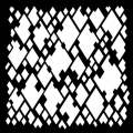 Woodware Stencil - Diamond Mesh
