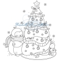 Rachelle Anne Miller Christmas collection - Decorating tree