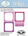 Elizabeth Crafts Design Metallschablone Pop-It-Ups Fancy Frame Edges