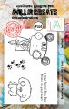 AALL & Create Clear Stamps  - Paw Prints