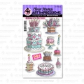 Art Impressions Stamp & Die Set -Birthday Cake Set