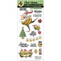 Art Impressions Clearstamps Christmas Bee Set