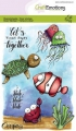 CraftEmotions Stempel - clearstamps A6 - Ocean 3 Carla Creaties