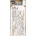 Tim Holtz Collection Schablone Layering Stencil - Circuit -Layered
