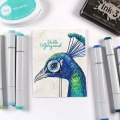 Bild 3 von Colorado Craft Company Clear Stamps - Big & Bold~Hope Sings Peacock