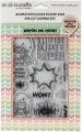 Uchi's Design Animation Clear Stamps  - Super Friends - Helden