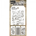 Tim Holtz Collection Schablone Mini Layering Stencil Set #25