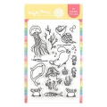 Waffle Flower Sea Birthday Stamp Set - Stempel Geburtstag