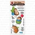 Art Impressions Clear Stamps Hedgehogs Set - Igel