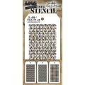 Tim Holtz Collection Schablone Mini Layering Stencil Set #27