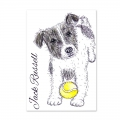 Bild 2 von For the love of...Stamps by Hunkydory - It's a Dog's Life Clear Stamp - Jack Russell