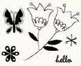 studio g Clearstamps Blumen 15