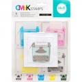 We R Memory Keepers CMYK Clearstamps - Typewriter