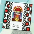 Bild 3 von For the love of...Stamps by Hunkydory - Clearstamps Rock 'n' Roll Jukebox