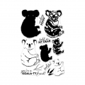 Hero-Arts-Clear-Stamps-Color-Layering-Koala
