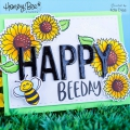 Bild 3 von Honey Bee Stamps Clearstamp - Hi Honey - Textstempel