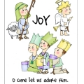 Art Impressions Jingle Tots Nativity Set 1