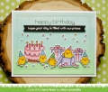 Bild 6 von Lawn Fawn Clear Stamps  - Clearstamp birthday before 'n afters