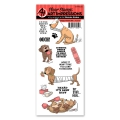 Art Impressions Clearstamps Doggy Kisses Set