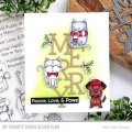 Bild 7 von My Favorite Things - Clear Stamps Peace, Love, & Paws - Hund, Katze