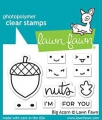 Lawn Fawn Clear Stamps - Big Acorn