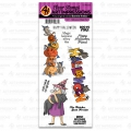 Art Impressions Clearstamps Halloween Magic Set