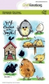 CraftEmotions Stempel - clearstamps A6 - Chicken 1 Carla Creaties
