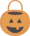 QuicKutz Stanzschablone Trick-or-treat bucket
