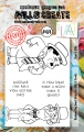 AALL & Create Clear Stamps  - Stan & Ollie