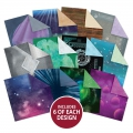 Bild 2 von Hunkydory - Create-A-Shaker Paper Pad - Outer Space & Deep Blue Sea - Papierblock