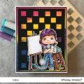 Bild 3 von Whimsy Stamps Clear Stamps  - Polka Dot Pals Colton