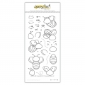 Honey Bee Stamps Clearstamp - Build-A-Bee - Binen-Bastelset