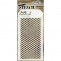 Tim Holtz Collection Schablone Layering Stencil Herringbone