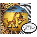 Bild 3 von Stampendous! Giraffe Cling Rubber Stamps And Cutting Dies Set - Stempel mit Stanzen