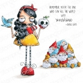 Gummistempel Stamping Bella Cling Stamp ODDBALL SNOW WHITE AND THE SEVEN DWARVES RUBBER STAMPS