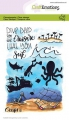CraftEmotions Stempel - clearstamps A6 - Ocean 6 Carla Creaties