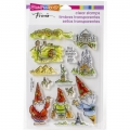 Stampendous Perfectly Clear Stamps - Gnome Travels - Gnome auf Reisen