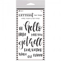 Letter It™ Clear Stamp Set 4