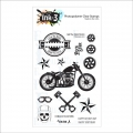 INKON3 Clear Stamp - Get Your Motor Runnin