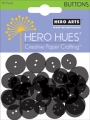 Hero Arts Card Buttons Black