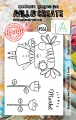 AALL & Create Clear Stamps  - Flower Market