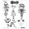 Dyan Reaveley's Dylusions Cling Stamp Gummistempel  Mini Me