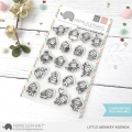 Mama Elephant - Clear Stamps LITTLE MONKEY AGENDA - Affen
