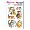 Stampendous Perfectly Clear Stamps - Kitty Mischief - Katzen