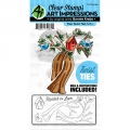 Art Impressions Clearstamps  und Stanzen - Twist Ties Stamp & Die Set - Tree/Baum