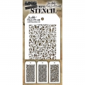 Tim Holtz Collection Schablone Mini Layering Stencil Set #26